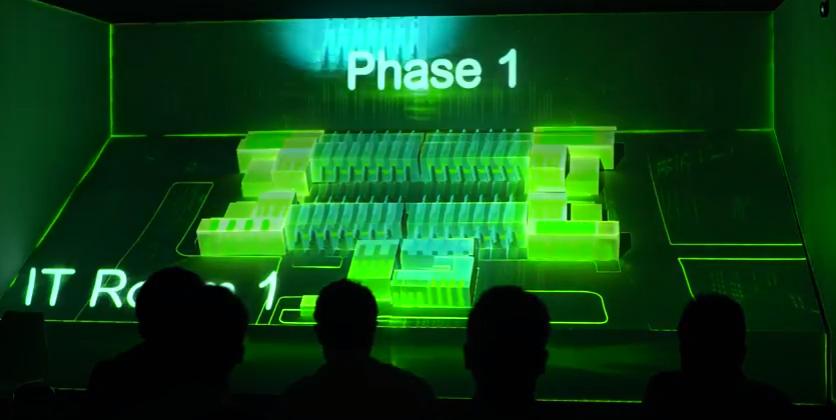 รับทำ วีดีโอ 3 ดี แมพปิ้งรับทำ 3D MAPPING - Schneider Electric Life Is On 1