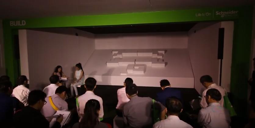 รับทำ วีดีโอ 3 ดี แมพปิ้งรับทำ 3D MAPPING - Schneider Electric Life Is On 2