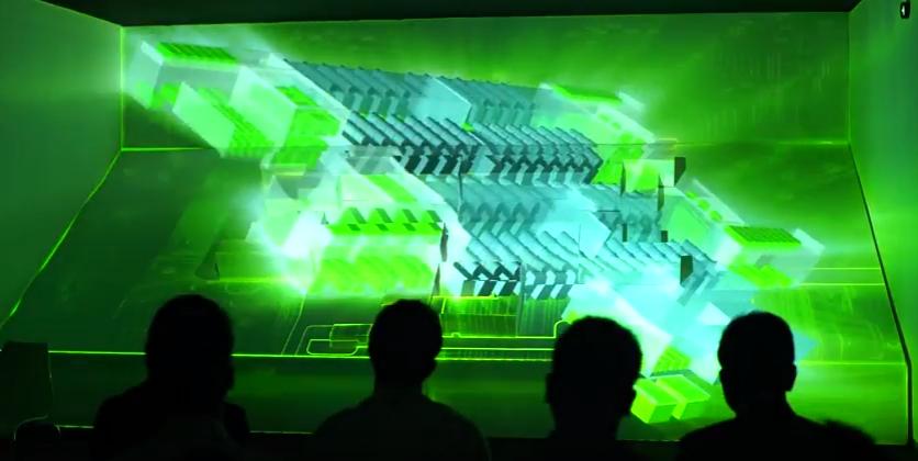รับทำ วีดีโอ 3 ดี แมพปิ้งรับทำ 3D MAPPING - Schneider Electric Life Is On 4