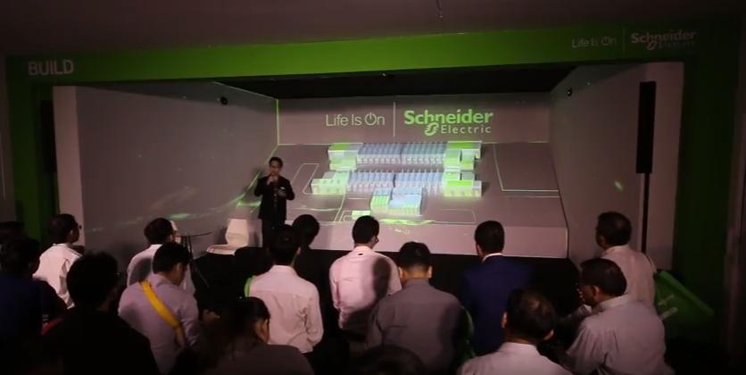 รับทำ วีดีโอ 3 ดี แมพปิ้งรับทำ 3D MAPPING - Schneider Electric Life Is On 5