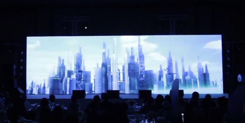 รับทำ วีดีโอ 3 ดี แมพปิ้ง 3D MAPPING ซีเมน Siemens 4