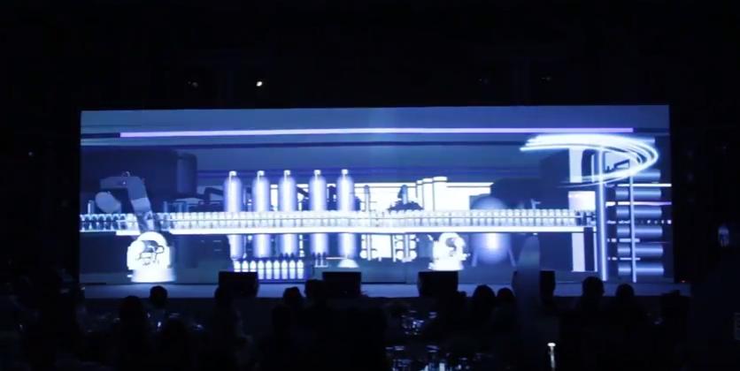รับทำ วีดีโอ 3 ดี แมพปิ้ง 3D MAPPING ซีเมน Siemens 6