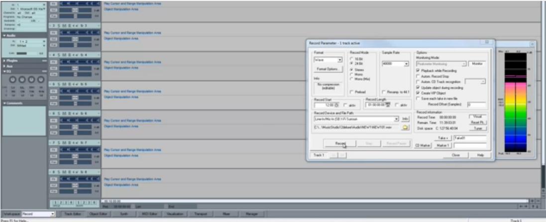 MESISE.COM สอนทำปรับเสียงเล็กใหญ่ในโปรแกรม MAGIX STUDIO 12