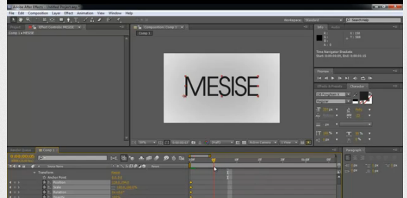 MESISE.COM – AFTER EFFECT – MOTION SKETCH
