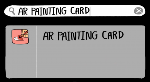 AR PAINTING CARD By ILLUSION