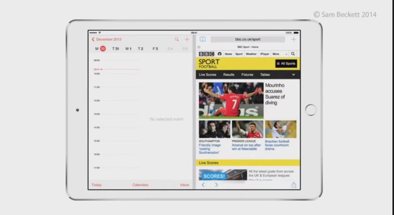 MENEW - ios8 multitasking