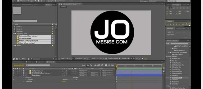 MESISE.COM – AFTER EFFECT BASIC MOTION