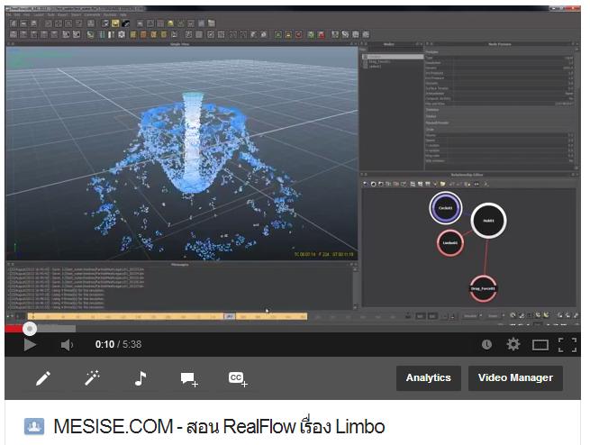 MESISE.COM – สอน RealFlow เรื่อง Limbo