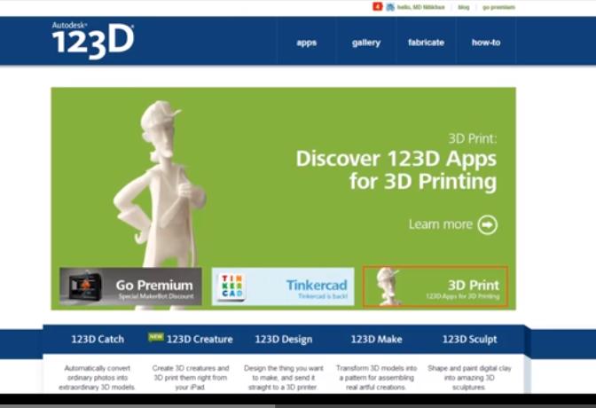 MESISE.COM – แนะนำโปรแกรม 123D