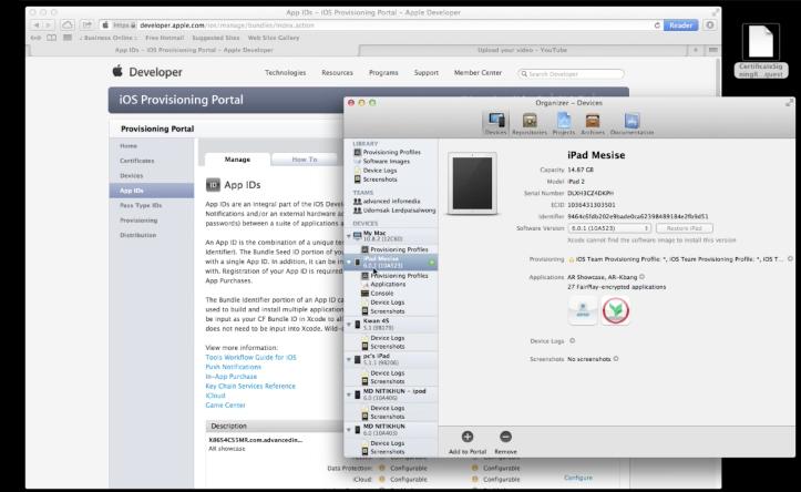 MESISE.COM – การสร้าง Provisioning iOS DEV