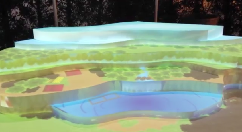 3D MAPPING – ROYAL PAVILION TCC EXPO