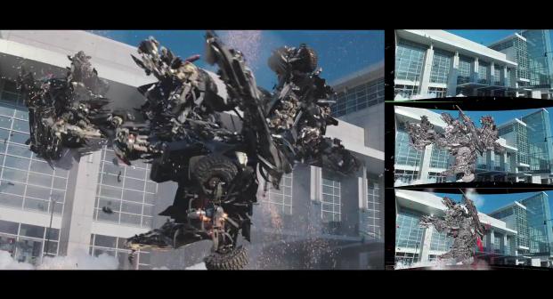 เบื้องหลังภาพยนต์ Transformers: Dark of the Moon